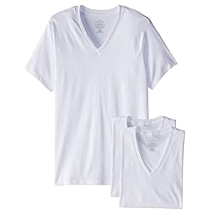 Calvin Klein Men's Cotton Classics Multipack V Neck T-Shirts