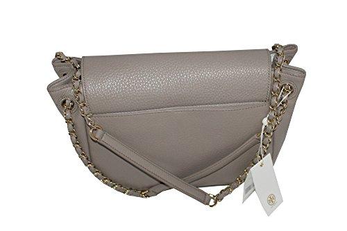 French Small Shoulder 46176 Burch Gray Handbag Women's Flap Tory Bag Bombe za1IH
