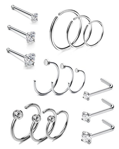 19 Different Types Of Nose Rings Yes There Are This Many