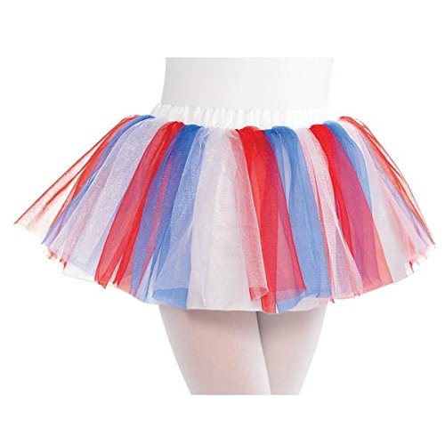 Child Red, White & Blue Tutu ()