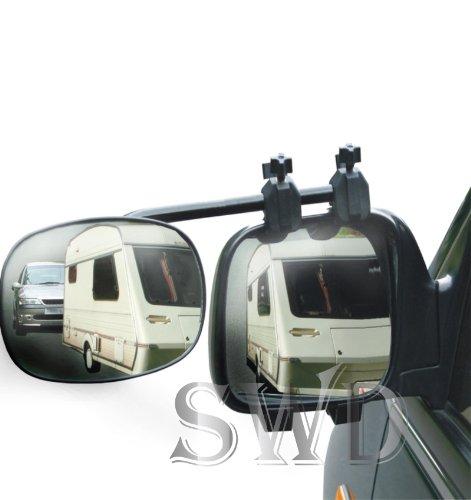 Streetwize LWACC34 Rock Steady Twin Towing Mirror Pack