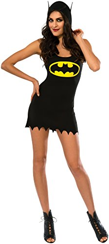 [Rubie's Costume Co Women's DC Superheroes Batgirl Hooded Tank Dress, Multi, Medium] (Batgirl Costumes Cosplay)