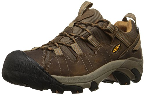 KEEN Men's Targhee II Hiking Shoe,  Gargoyle/Midnight Navy - 11 D(M) US