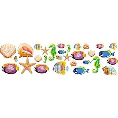 Amscan Sea Life Party Cutout Kit: Kitchen & Dining