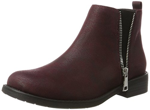 Bianco Women's Zip Chelsea Boots Red (Winered 40) discount good selling clearance geniue stockist discount 2014 newest RdXqSskFlm