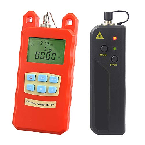 Baosity Portable Optical Fiber Power Meter Tester Measure -70dBm~+10dBm and 30mW 10-30KM Visual Fault Locator Fiber Tester Detector Meter by Baosity (Image #10)