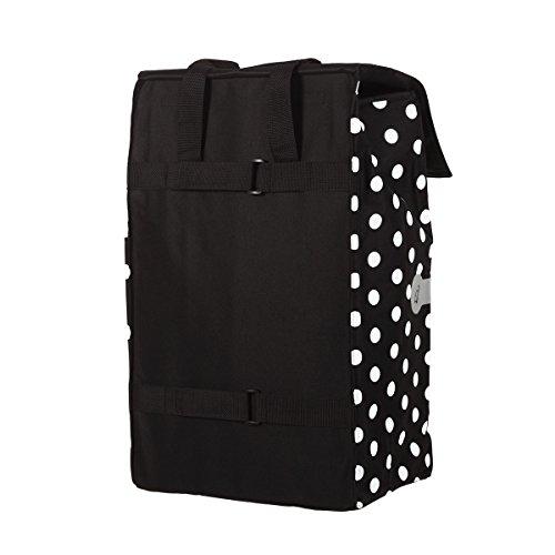 Original Andersen Royal Shopper mit Tasche Gerry schwarz, mit Luftreifen