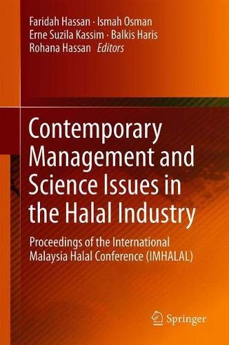 Contemporary Management and Science Issues in the Halal Industry: Proceedings of the International Malaysia Halal Conference (IMHALAL)
