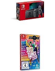 Nintendo Switch Konsole - Grau (2019 Edition) + Just Dance 2020 (Switch)