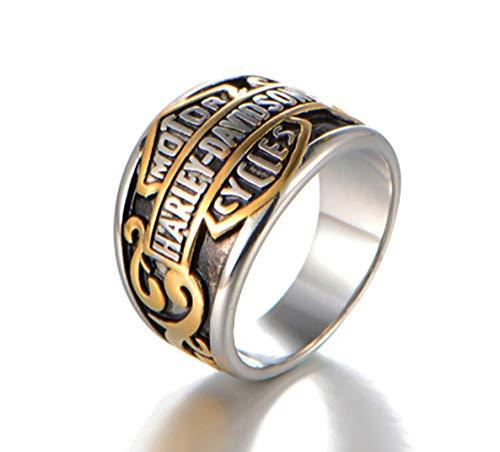 LEMOISTARS Harley-Davidson Titanium Steel His and Hers Cool Jewelry Ring (13)