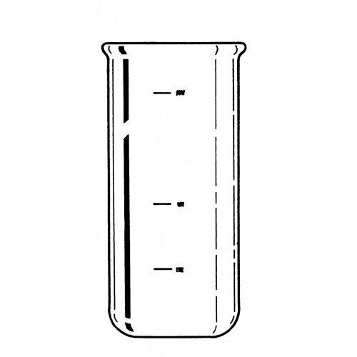 Labconco 7542700 Fast-Freeze Bottom Flask, 750 mL Capacity, 90.2 mm Diameter, 162 mm Height