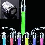 FOReverweihuajz-Rompigetto-per-Rubinetto-per-acqua-con-7-colori-RGB-con-luce-LED-colorata-e-creativa-Multi