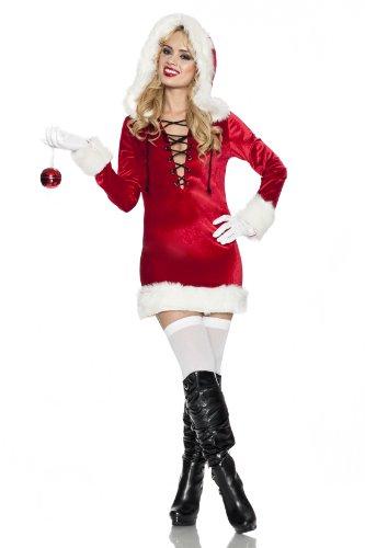 Delicious Mistletoe Costume, Red/White, X-Small ()