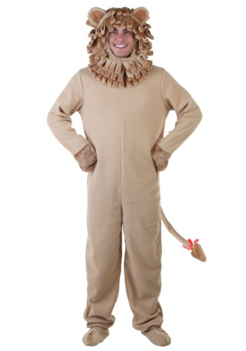 Plus Size Lion Costume 2X Tan ()