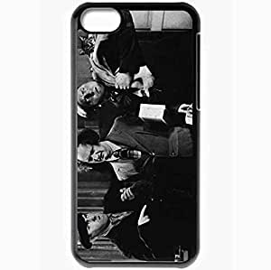 Personalized iPhone 5 5s Cell phone Case/Cover Skin The Three Stooges Black WANGJING JINDA