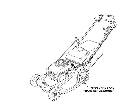 Honda GENUINE OEM Harmony II HRR216 (HRR2162PDA) (HRR2162SDA) (HRR2162TDA) Walk-Behind Lawn Mower Engines THROTTLE CABLE & LEVER ASSEMBLY