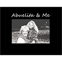 Infusion Gifts S3019SB Abuelita & Me, Small Engraved Photo Frame, black