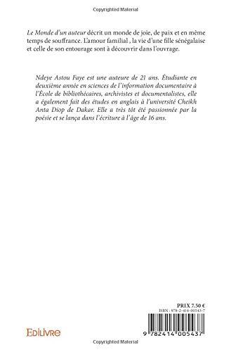 Le Monde Dun Auteur French Edition Ndeye Astou Faye