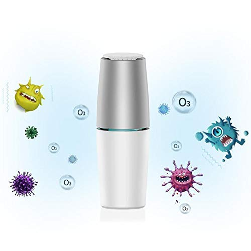 TOMOLOO Pluggable UV Air Purifier, Reduces Harmful Substances and Cooking Smoke in The Air Protect Family Safety
