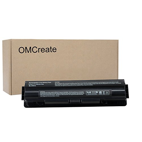 Price comparison product image OMCreate 9 cell Laptop Battery for Dell XPS 15 ( L502X L501X ) / XPS 14 (L401X) / XPS 17 (L701X),  fits P / N:JWPHFJ70W7 R795X -12 Months Warranty