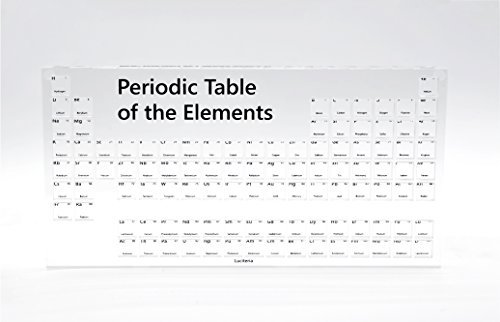 - Periodic Table of the Elements Display Case Holder for 10mm Density Cubes