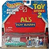 Hot Wheels Toy Story 2 Action Pack - Buzz and Woody