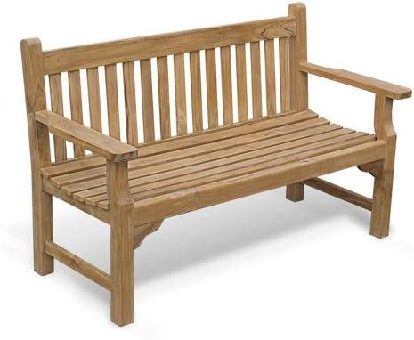 Incredible Jati Turner Teak 3 Seater Garden Bench 5Ft Garden Bench Brand Quality Value Lamtechconsult Wood Chair Design Ideas Lamtechconsultcom