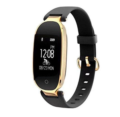 Bluetooth Smart banda de frecuencia cardíaca S3 Smart Wristband control remoto de la cámara GPS Smartband Fitness pulsera...