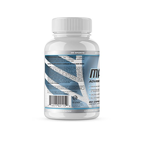 G6 Sports Nutrition Mach 1 Advanced Lean System (Patented Ingredients, Target Fat Cells, No Crash or Jitters) – 60 Capsules by G.Sports (Image #2)
