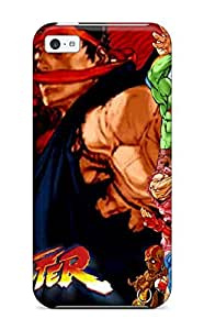 Hot FmeSsYv801vkKuF Case Cover Protector For Iphone 5c- Street Fighter