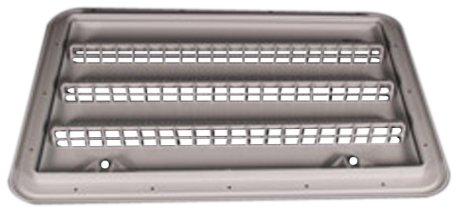 Norcold Inc. Refrigerators 621156PW Polar White Plastic Radius Corner Side Vent ()