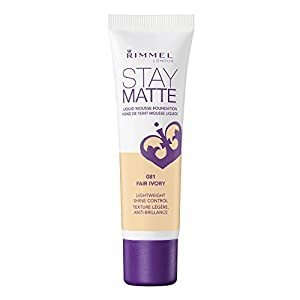 Rimmel Stay Matte Foundation, Fair Ivory, 1 Fluid Ounce