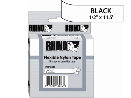 Sanford LP : RHINO 1/2 WHITE FLEXIBLE NYLON ()