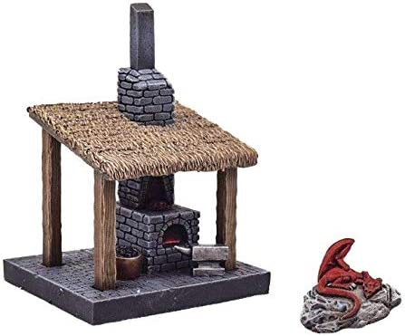 War World Gaming Fantasy Village - Fragua de Herrero - 28mm ...