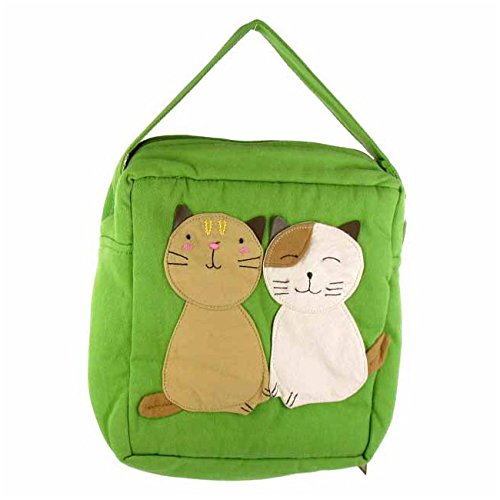 Lachineuse Design Chats Kawaii Japonais Sac Duo De ArwfBx5Aqz