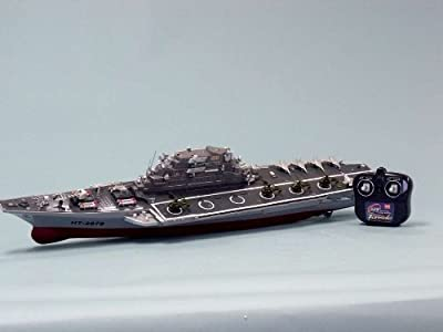 "Challenger RC Aircraft Carrier Model 30"" - RC Battleship - Model Ship Wood Replica - Not a Model Kit by USA"