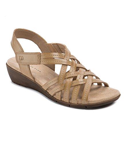 Wear.Ever. Fannie Women's Sandals & Flip Flops Tan Size 7.5 M (WR11878)