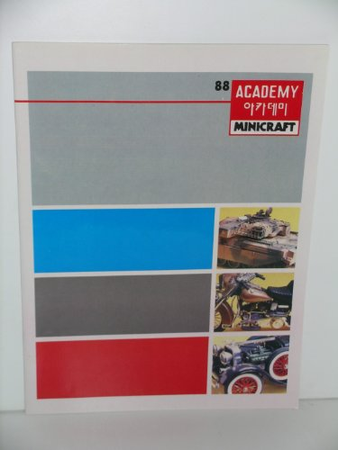 Academy/Minicarft 1988 Catalogue of Hobby Kits