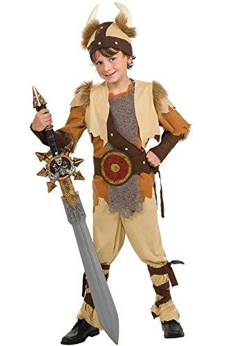 Viking Warrior Costumes - Rubie's Deluxe Viking Warrior Costume - Medium (8-10)