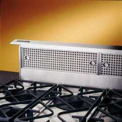 RangeMaster 30 In. Downdraft Shell for External Blowers - Stainless Steel