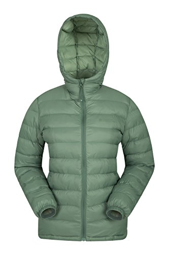 Mountain Warehouse Seasons Women's Water Resistant Warm Padded Jacket Light Khaki 8