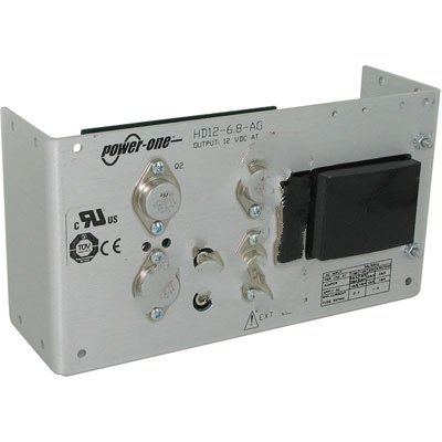 Bel Power Solutions HD12-6.8-AG, Power Supply; AC-DC; 12V@6.8A; 100-264V In; Open Frame; Panel Mount; Linear