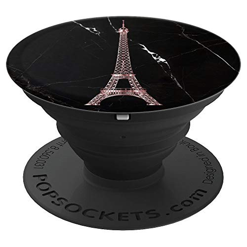 - Rose Gold Love Eiffel Tower Souvenir Amour Paris France Gift - PopSockets Grip and Stand for Phones and Tablets