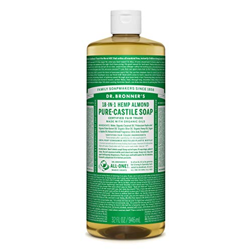 Dr. Bronner's Pure-Castile Liquid Soap Value Pack - Almond 32oz. (2 Pack) ()