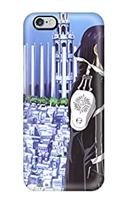 New Style CaseyKBrown Hard Case Cover For Iphone 6 Plus- D Gray Man Characters