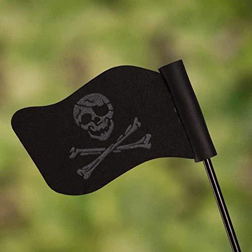 Pirate Antenna Topper - Black Skull Flag Car Antenna Pen Topper Aerial Ball Decor Toy Car Roof Decoration