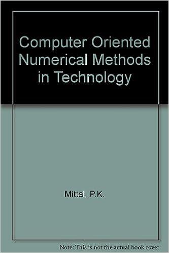 Computer Oriented Numerical Methods Book