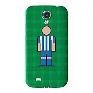 Deportivo Full Wrap High Quality 3D Printed Case for Samsung? Galaxy S4 by Blunt Football European + FREE Crystal Clear Screen Protector