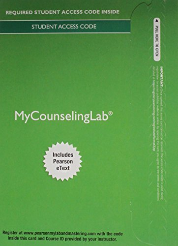 MyLab Counseling with Pearson eText -- Access Card -- for Foundations of Career Counseling: A Case-Based Approach