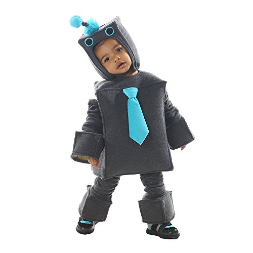 [Infant and Child Roscoe Robot Costume by Princess Paradise 4331, 18mo-2T,X-Small_4] (Baby Sushi Costumes)